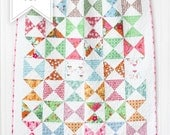Flower Patch Quilt Kit with White Flower Backing - Baby Quilt Kit - Lori Holt - Bee in My Bonnet - FPQKWHITE