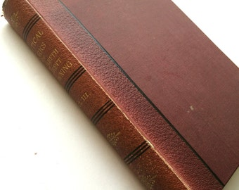 Elizabeth Barrett Browning Antique Book 1890 The Poetical Works of Elizabeth Barrett Browning Vol. 3