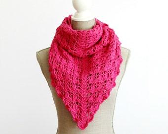 Spring Crochet Shawl, Boho Shawl, Crochet Wrap