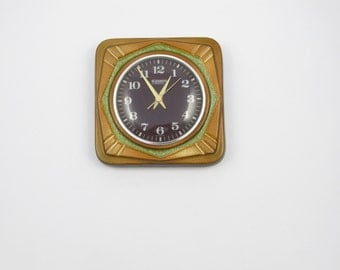"""Vintage ceramic wall clock made in Germany by  """"Blessing"""""""