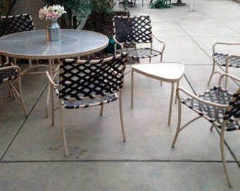 Mid Century Modern patio set Brown Jordan Tamiami vintage original