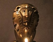 Vintage Mod Lion Sculpture From Dave Archers Museum Animal Collection