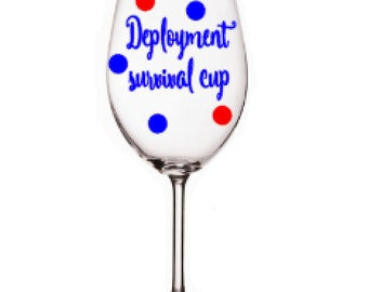 deployed husband gifts,  army spouses gift, military wife items,  wine glass for military spouses , gift for military spouse