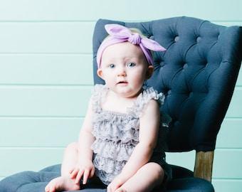 Baby Girl Headband, Baby Head bands, Knot Headband, Cotton Headband, Floral Headband, Baby Bows, Floral Headwrap, Girl Headband, Knot Bow