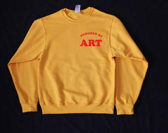 Powered by ART Sweatshirt (More colors and sizes available)