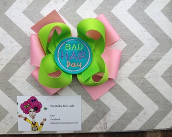 Bad Hair Day Hair Bow