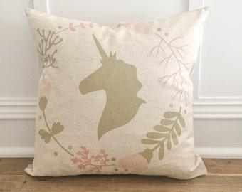 Unicorn 2 Pillow Cover