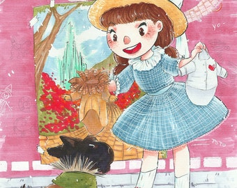 Dorothy and Toto! Instant download!