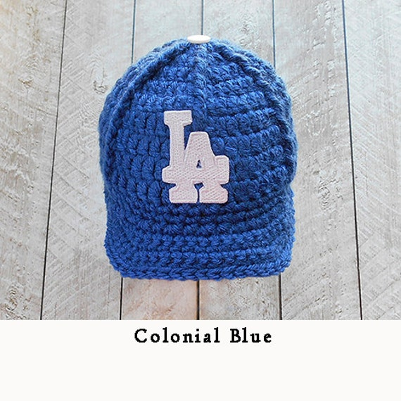 Items similar to Baseball cap Los Angeles Dodgers Baby
