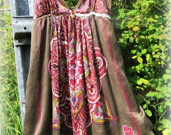 Altered Couture, Upcycled Recycled, Wearable Art, Slow Fashion, Free People, Boho, Festival, Eco Friendly, Mori Girl, Forest Mori, Hippie
