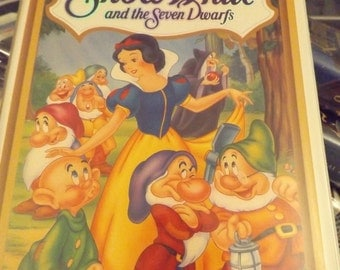Disney Classic -Masterpiece Collection Snow White VHS