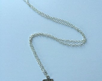 MEOW cat necklace