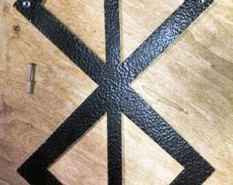 Hammer Textured, Berserk Brand of Sacrifice Wall Mount
