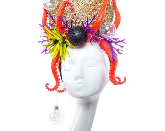 OCTOBUBBLE - Couture Light-up Sea Headdress
