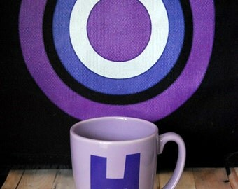 Purple Hawkeye H Mug
