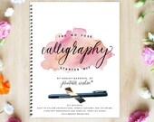Calligraphy Starter Kit, Printable Wisdom; learn Calligraphy kit how to calligraphy instruction book calligraphy pen no fuss calligraphy set