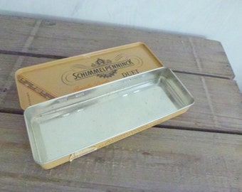 Schimmelpenick sugar box- tin box