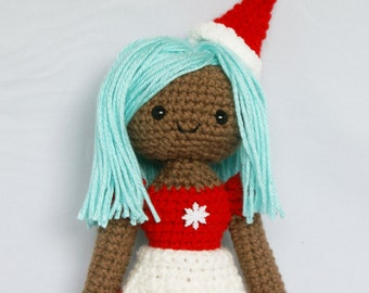 Celia Ooak Doll Crochet Amigurumi
