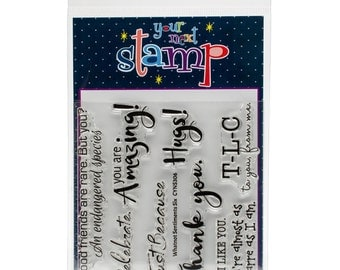 Your Next Stamp Whatnot Sentiments Six