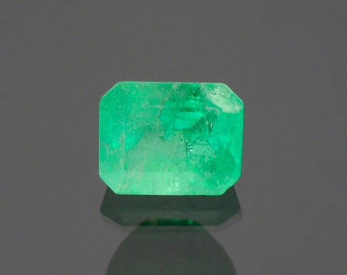 Bright Green Emerald Gemstone from Colombia 1.61 cts.