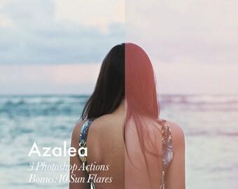 Azalea - Photoshop Action INSTANT DOWNLOAD