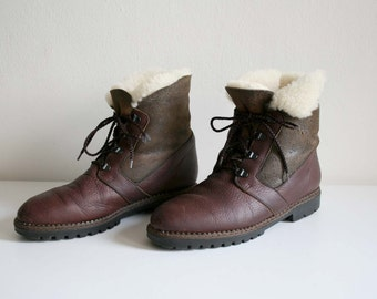 Orvis Canadian Shearling Boots 12