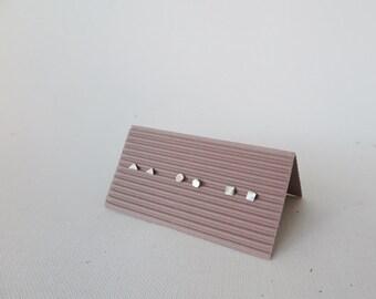 Geometric Shape Stud Set