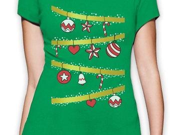 Ugly Christmas Tree - Women's T-Shirt