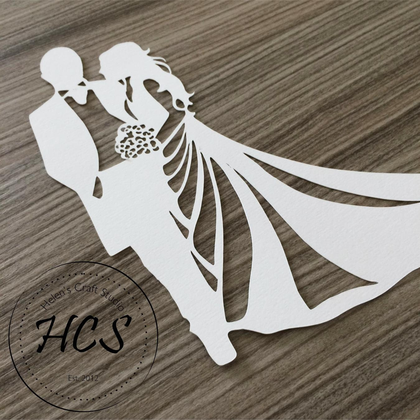 Bride And Groom Silhouette Celebration Svg Wedding Svg