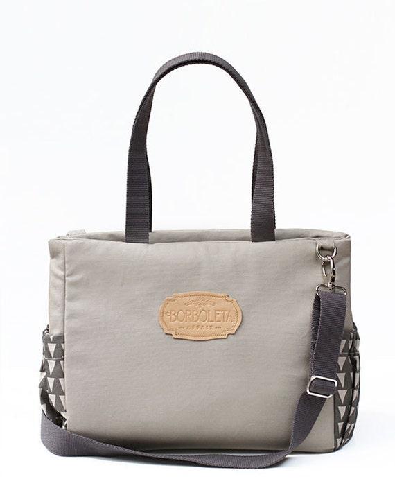 unisex canvas diaper tote bag many pockets by borboletabag on etsy. Black Bedroom Furniture Sets. Home Design Ideas