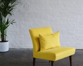 Yellow Cintique Chair