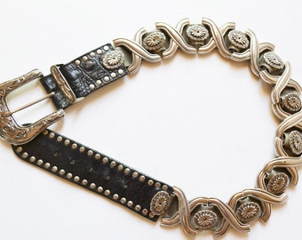 NANNI belt made in Italy vintage