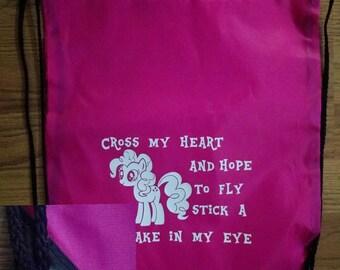 My Little Pony Drawstring Gym Bags