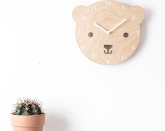 Buster the Bear Clock