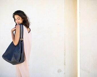 Gray Leather Tote Bag ,Handmade Leather Bag ,Women Bag ,Large Leather Bag,Gray Leather Bag, Lucy Bag