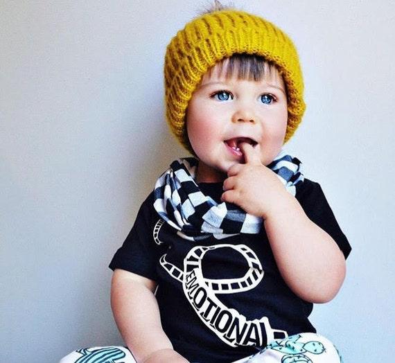 Boys Infinity Scarf Girls Infinity Scarf Baby Boy Clothes