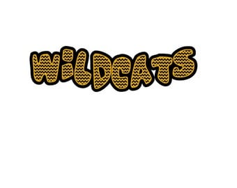 Wildcats 2 layered vinyl cutting file SVG Studio  Eps PNG Pdf