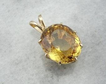 Rich Honey Quartz Pendant 0Q61TX-N