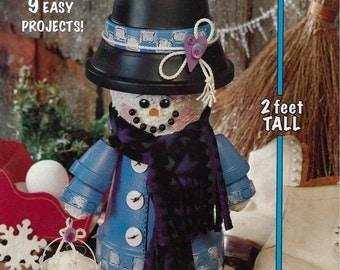 McCall's Creates Flowerpot Snowman & Pals Book No 15282