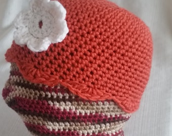 Cozy Crochet Flower Beanie