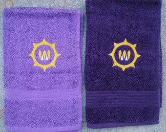 Destiny Queen's Emblem Themed Towels