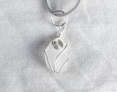 Genuine Irish sea glass necklace. made in Ireland
