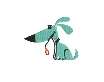 a  Dog embroidery design