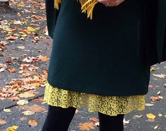 Poppy Lace Yellow  Snap on Extender for Outskirts Slip