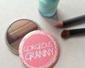 Gorgeous Granny Pocket Mirror