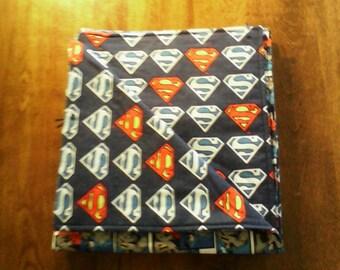 Superman and Batman Blanket