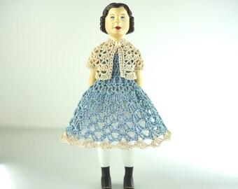 Hitty Doll ~ Hitty Dress ~ Hitty Outfit ~ Hitty Clothing ~ Hitty Doll Dress