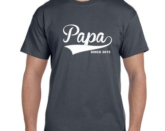 Papa New Dad Gift Papa Gifts Papa Shirt Gifts For Papa PaPaw Popop Gifts For Dad Father Gift Dad Gifts baby Reveal Baby Reveal Shirts Gifts