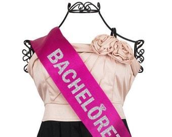 Bachelorette Diamond Sash, Bride to Be Sash, Bachelorette Sash, Bridal Sash, Bride to Be, Glitter Sash F19