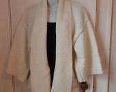 KIM01: (Small) Knit Kimono Jacket
